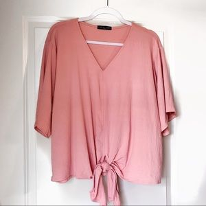 Tie front top - Kim and Cami